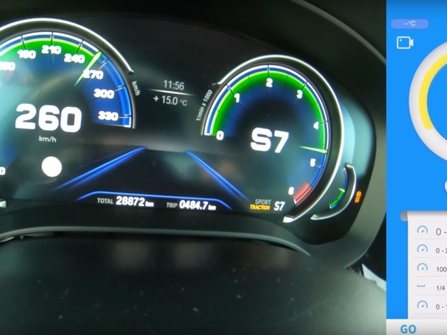 Video 515 Hp Bmw M550d Xdrive Goes For A Top Speed Run Motors