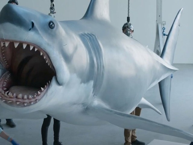 Watch the Jaws Shark Get Installed in the Academy Museum of Motion Pictures