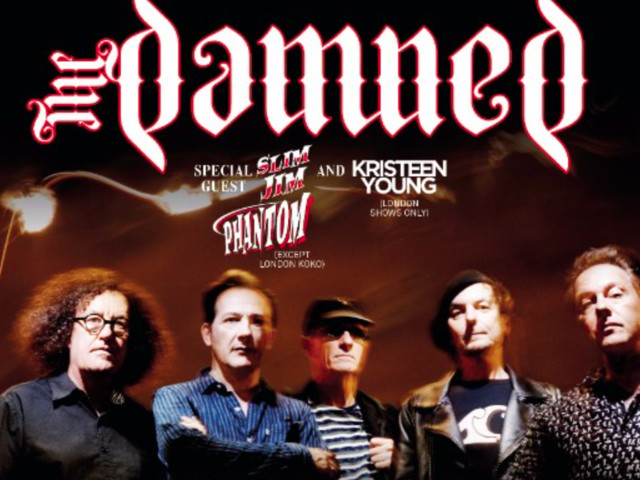 The Damned add extra London show