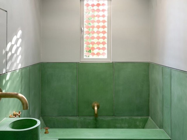 Award-Winning House Interiors - Studio Ben Allen's the House Recast is Colorful and Modern (TrendHunter.com)