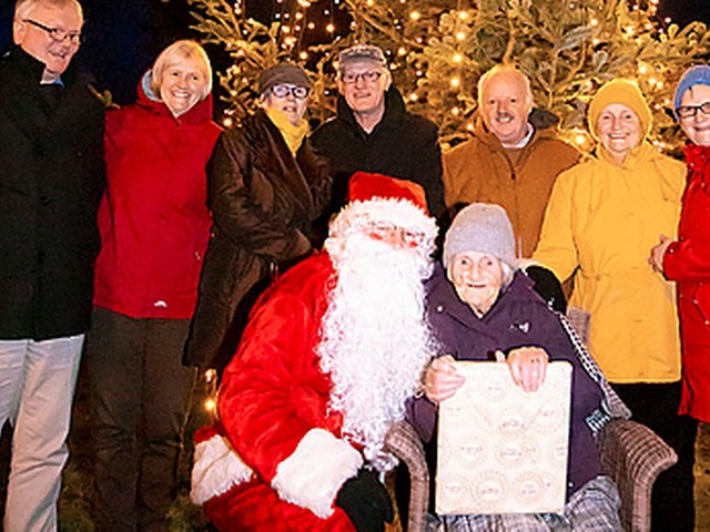 Great-great-grandmother Kitty Cosgrave, 99, selected to switch on Christmas lights in Wexford community