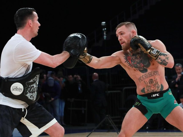 Conor McGregor's coach expecting much-improved fighter on UFC return after 'sporadic' regime for Khabib