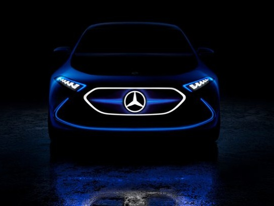 Mercedes-Benz Teases Entry Level EQ Electric Hatch Concept