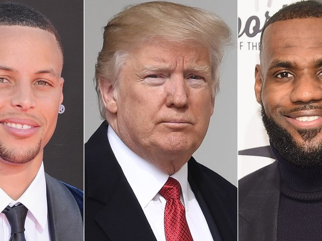 LeBron James Slams President Trump After He Disses Steph Curry