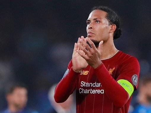 'Everyone wants to beat us': Virgil van Dijk insists Liverpool can handle pressure