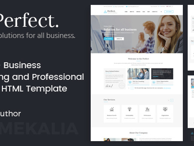Perfect - Business Consulting and Professional Services HTML Template (Business)