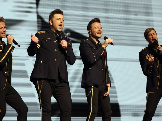 Westlife on The Graham Norton Show - where is Brian McFadden and why did they split up?