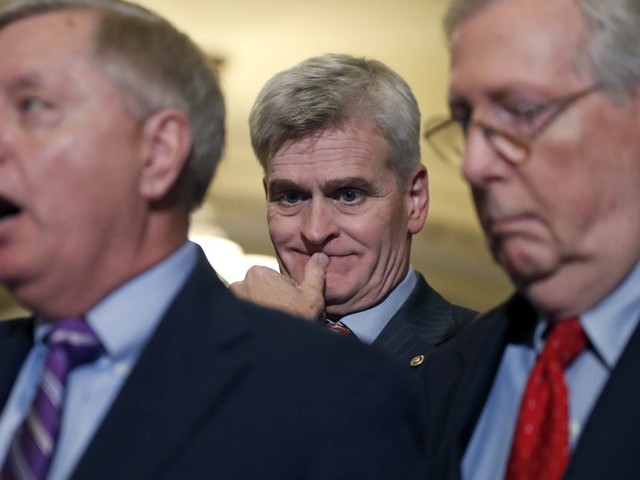 Graham and Cassidy using how their bill hurts blue states as way to sell it to conservative senators