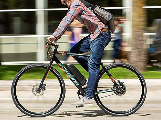 I thought e-bikes were a gimmick but then the $1,350 Schwinn Monroe changed my mind — here's what it's like to ride