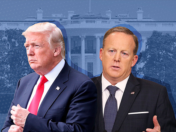 White House-media relations at breaking point as Spicer searches for replacement - CNNMoney