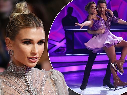 Billie Faiers 'is lined up by ITV bosses' for the next series of Dancing On Ice