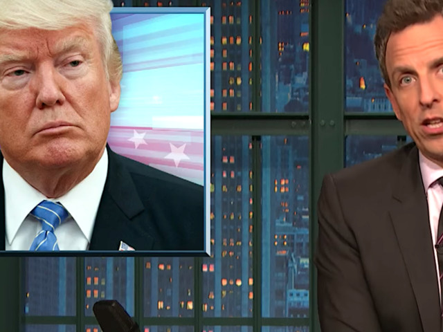 Seth Meyers Uses 3 Little Words To Sum Up Trump