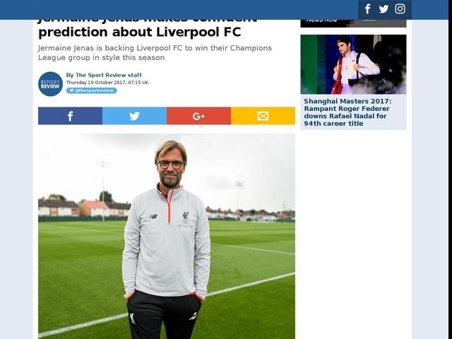 Jermaine Jenas makes confident prediction about Liverpool FC