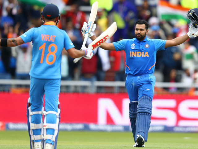 Cricket World Cup: India fans celebrate another victory against Pakistan