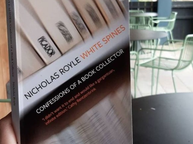 White Spines by Nicholas Royle