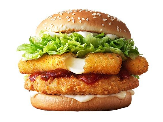 Mozzarella Stick Chicken Sandwiches - The McDonald's South Korea McChicken Mozzarella is Satisfying (TrendHunter.com)