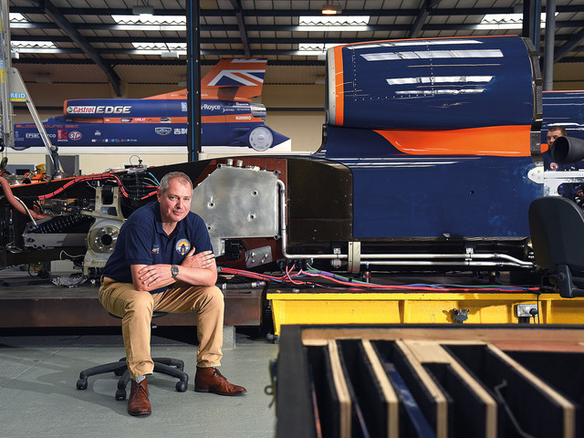Bloodhound SSC: inside the factory building a 1000mph car