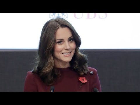 Video Spotlight: The Duchess of Cambridge speaks at Place2Be Forum