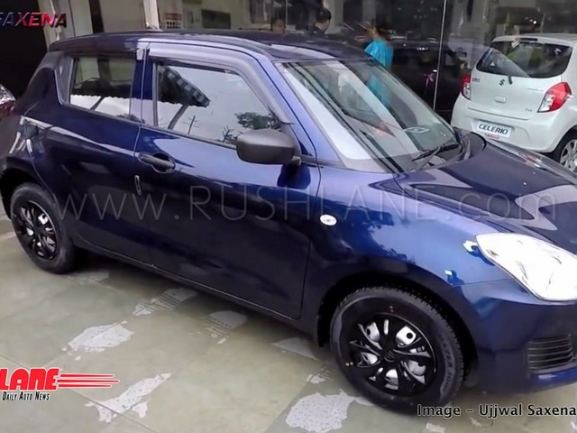 New Maruti Swift Limited Edition arrives at dealer – First look video
