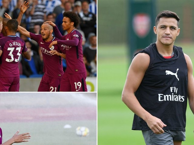 Man City news and transfer rumours LIVE Alexis Sanchez and Kyle Walker updates