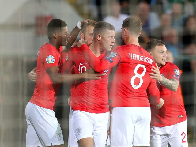 WATCH: Ross Barkley can't stop scoring, gives England 3-0 lead against Bulgaria!