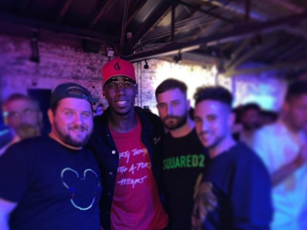 Man Utd star Paul Pogba parties with ex-Juventus team-mates with fans 'dreaming' of his return