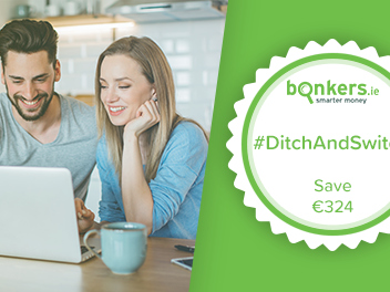 Take the #DitchAndSwitch challenge and be in with a chance to win a bonus €324!