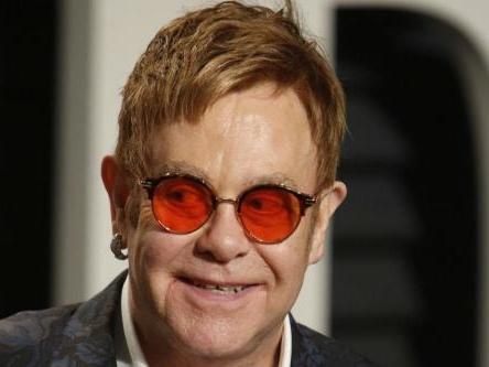 Sir Elton John smashed up room
