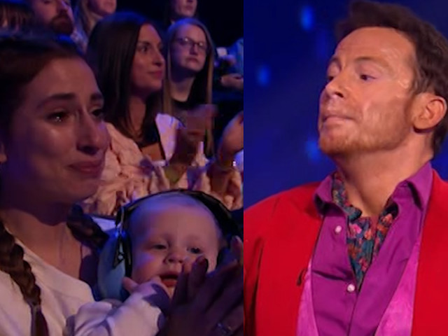 Emotional Joe Swash pays tribute to Caroline Flack on Dancing on Ice as Stacey Solomon fights back tears in crowd