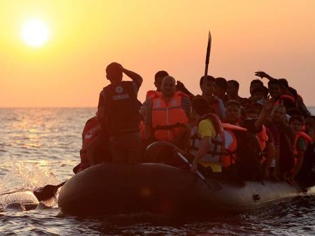 Eight migrants die as 86 rescued from sinking boat off Libya