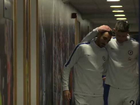 West Brom 0-4 Chelsea, Premier League: Tunnel Cam