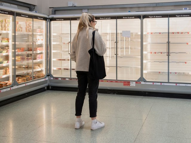 Shoppers will notice poultry, pork and bakery items disappearing from shelves 'in about 10 days'