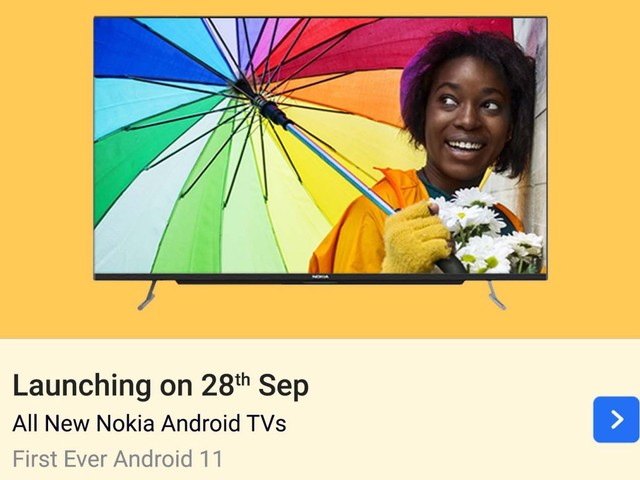 Two Nokia QLED and more Android 11 TVs launching tomorrow, details revealed