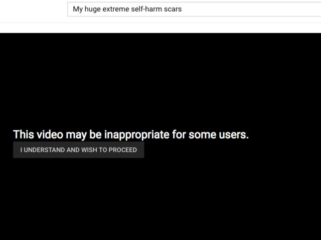 YouTube criticized for recommending 'self-harm' videos with graphic images (GOOG, GOOGL)