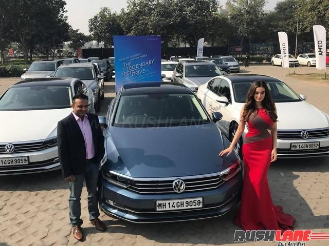 Volkswagen Legendary Test Drive to 2018 Auto Expo