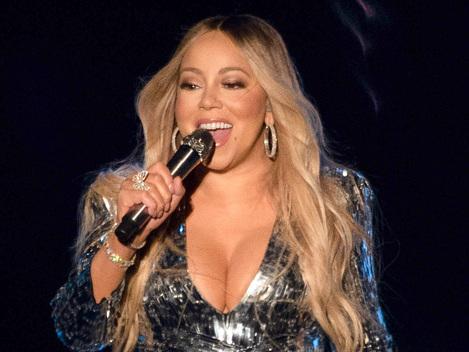 Mariah Carey, 49, Shows Off Her Tiny Waist In Teeny-Weeny, Skintight Mini Dress