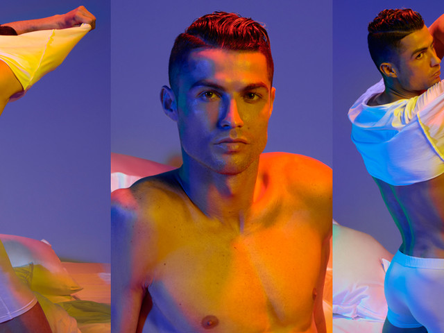 Cristiano Ronaldo Strips Off His Clothes for Underwear Campaign