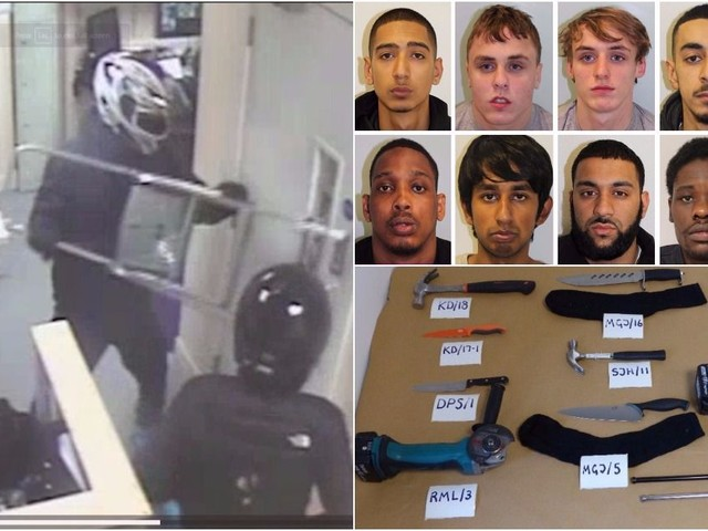 Moped gang facing lengthy jail terms for raids on mobile phone stores across London