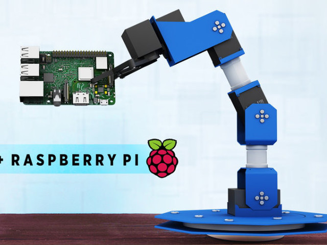 PiArm Raspberry Pi robotic arm