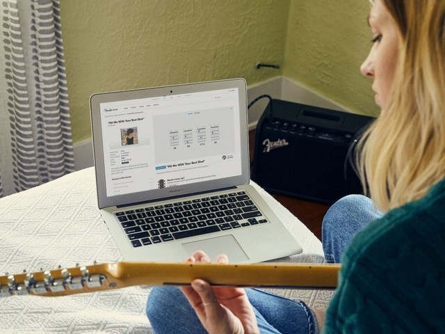 I spent a few months using Fender's online guitar-learning tool — and I was surprised by how much I learned