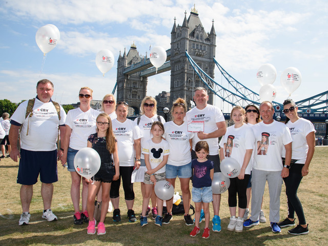 Family walk to honour daughter who died from an undiagnosed heart condition