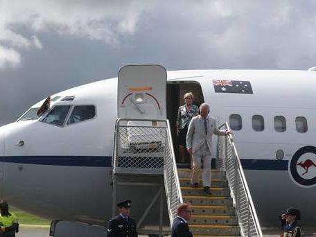 Charles made high chief during visit to Vanuatu