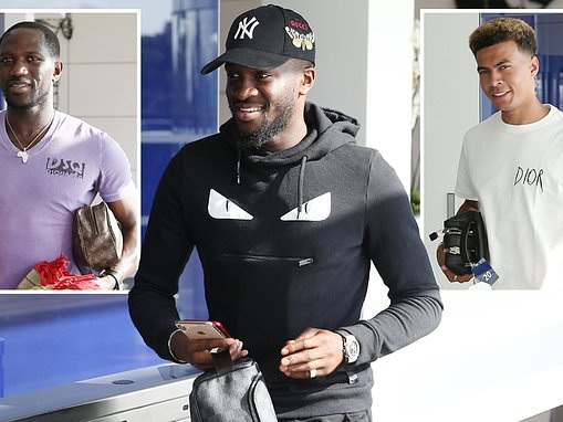 Tottenham's £65m record-signing Tanguy Ndombele arrives for first day of pre-season