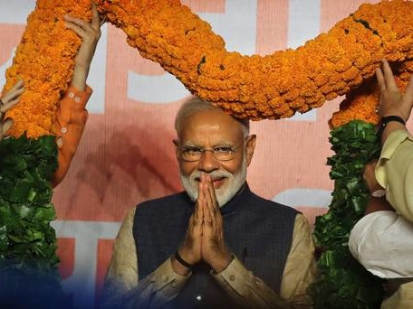 Narendra Modi given another five-year term as India's PM after poll triumph