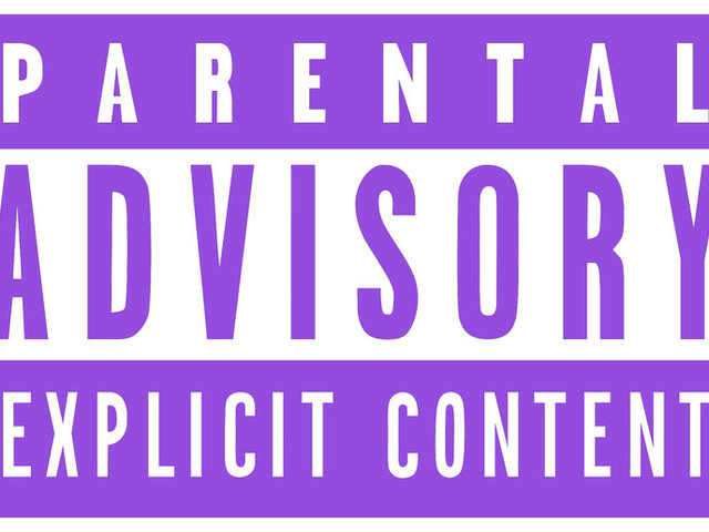 Memorializing Advisory Labels - Studio Brussel Created a Purple Parental Advisory Label for Prince (TrendHunter.com)