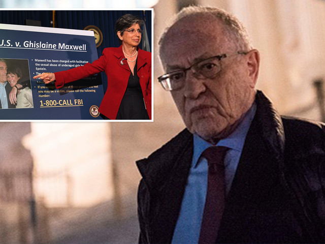 Epstein lawyer Alan Dershowitz BACKS pedophile's 'madam' Ghislaine Maxwell saying case 'far from over'