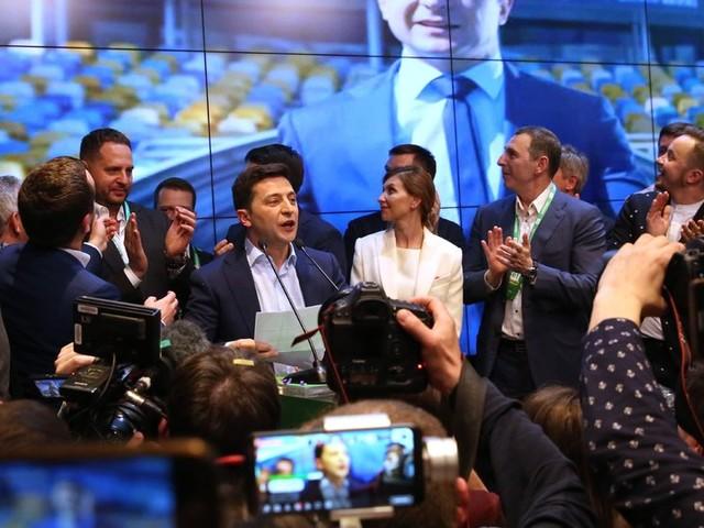 Ukraine Election: Comedian Trounces Incumbent President, Exit Poll Shows