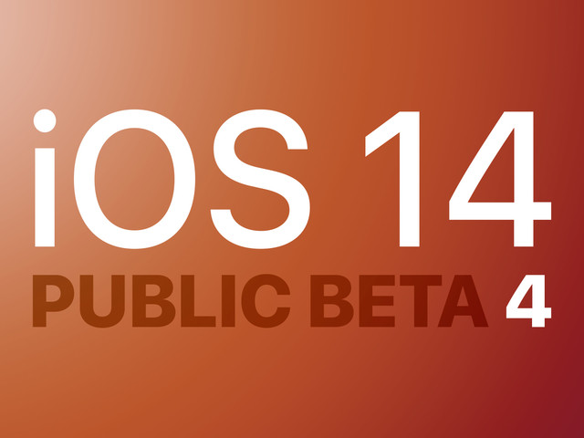 Apple Seeds iOS 14 and iPadOS 14 Public Beta 4 to Testers