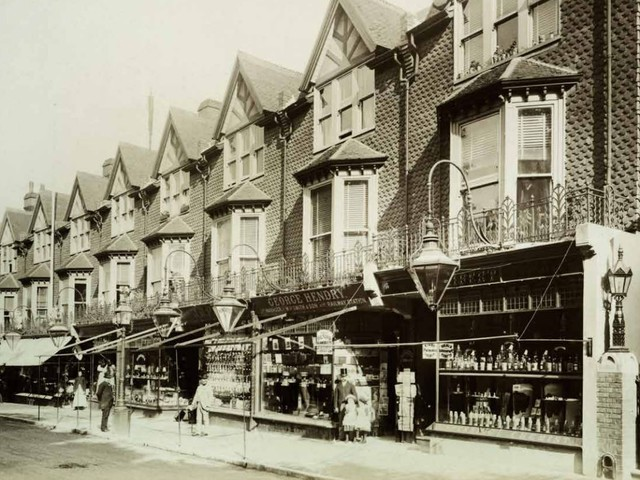 Whatever happened to the traditional shop awning?