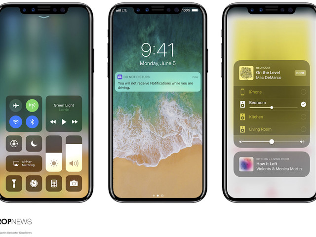 Component Production Begins for 2017 iPhones as New Renders Combine iOS 11 With iPhone 8